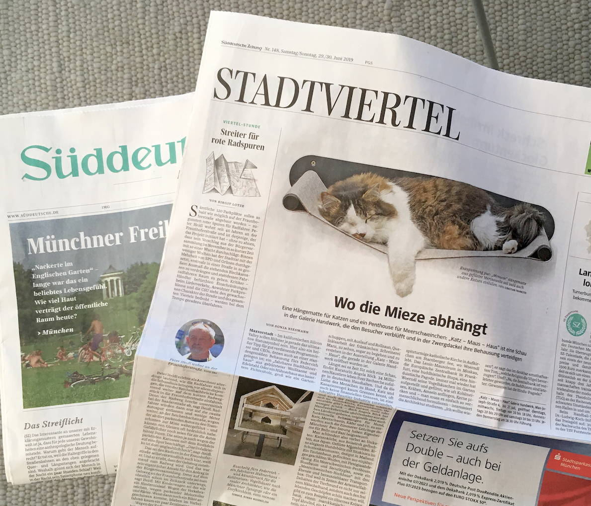 Artikel in Süddeutsche Zeitung über LucyBalu