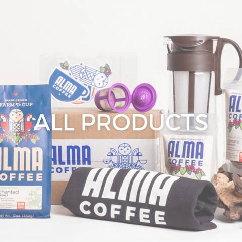 shop all products at alma coffee
