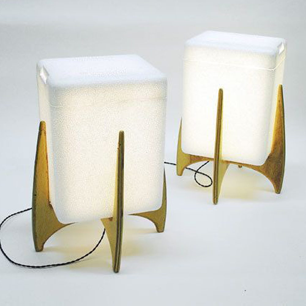 Shipping Container Lamps