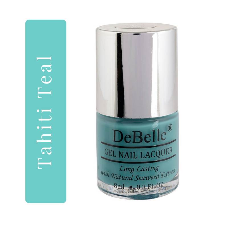 DeBelle Teal green Nail polish