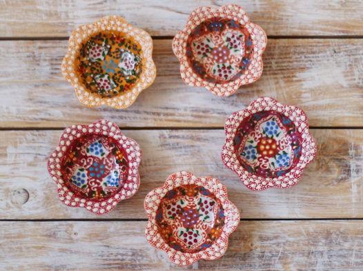 Набор керамических соусниц (5 шт)