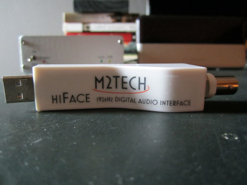 M2Tech HiFace USB to BNC