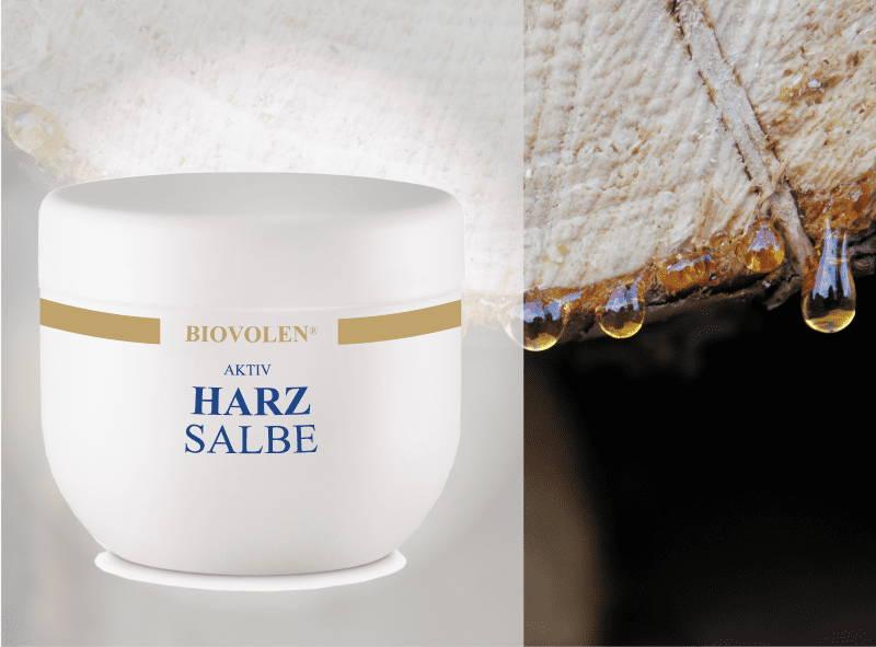 Biovolen Aktiv Harzsalbe gegen große Poren