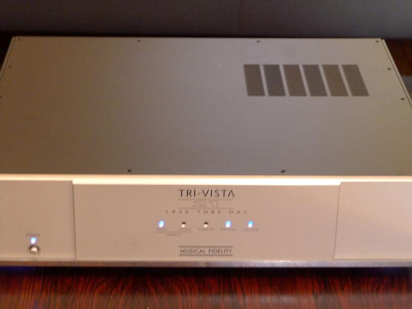 Musical Fidelity Tri-Vista DAC 21 Tube DAC