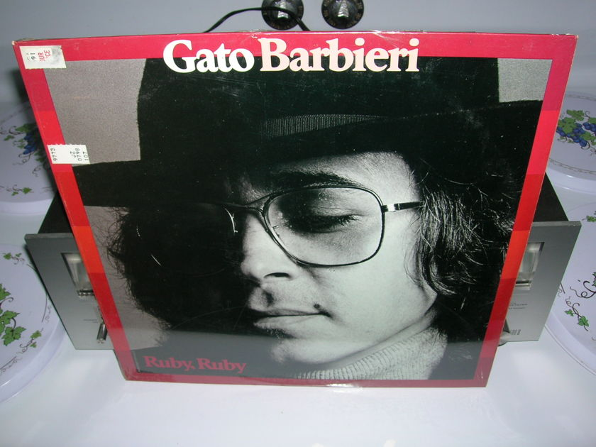 Gato Barbieri/Sealed/ Ruby, Ruby/ - 1977 A&M Records LP