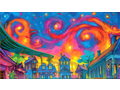 """Terrence Osborne """"Starry NOLA""""  Signed and Remarqued"""