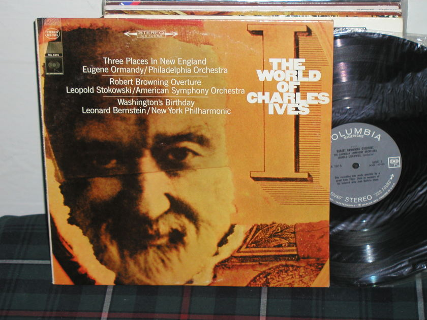Ormandy/Stokowski/Bernstein - World Of Ives Columbia 360  labels from 60's