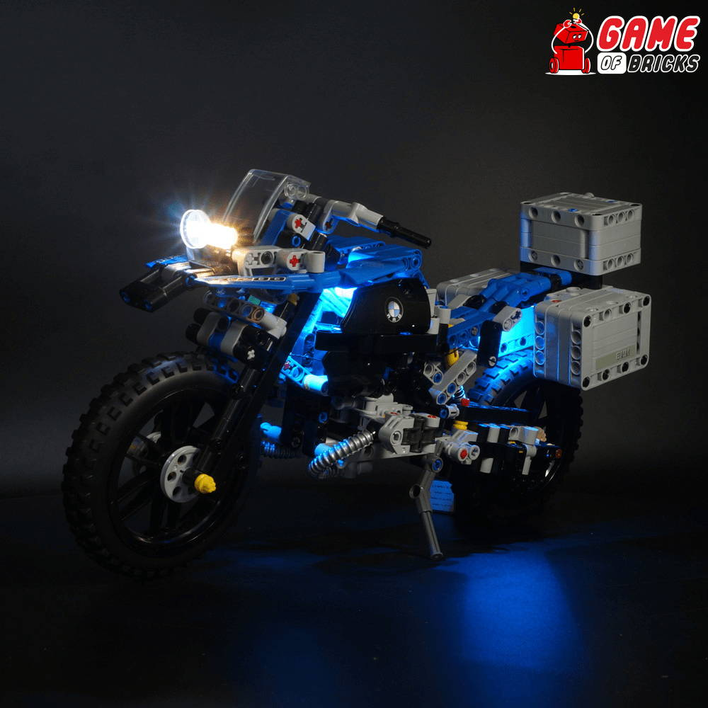 lego led lights for bmw motorbike