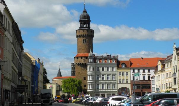 Поездка на автомобиле в Герлиц с обзорной экскурсией по старому городу.