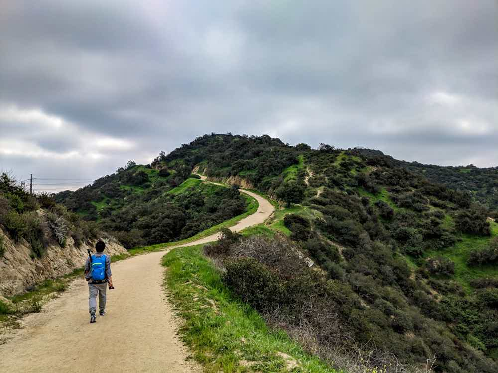Descanso Trail hike Los Angeles