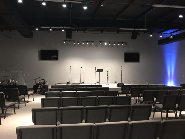 Church space for Saturday or Sunday Evening