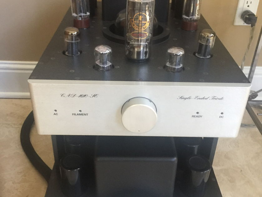Cary Audio CAD-1610se REDUCED! Beautiful pair of Single Ended Glory!
