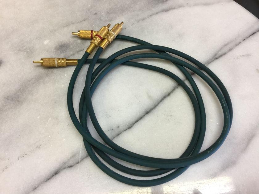 Hitachi SAX-102 RCA Interconnects - (1) meter pair - RARE!