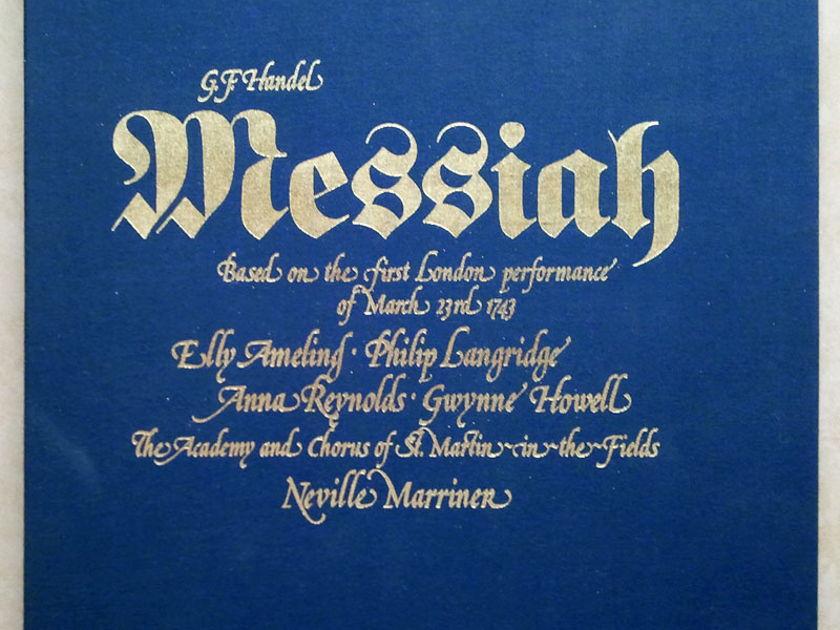 Argo Decca/Marriner/Handel - Messiah / 3-LP Box Set / NM
