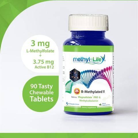 3 mg L-Methylfolate + 3.75 mg Active B12
