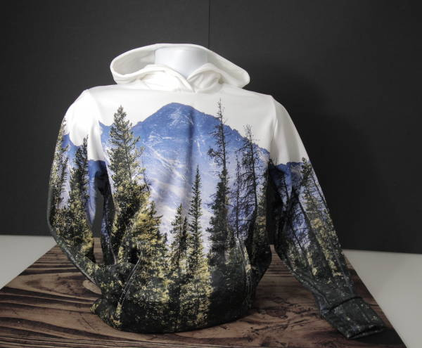 Custom Wholesale Activewear - Dye Sublimation Cut and Sew - Nature Hoodie