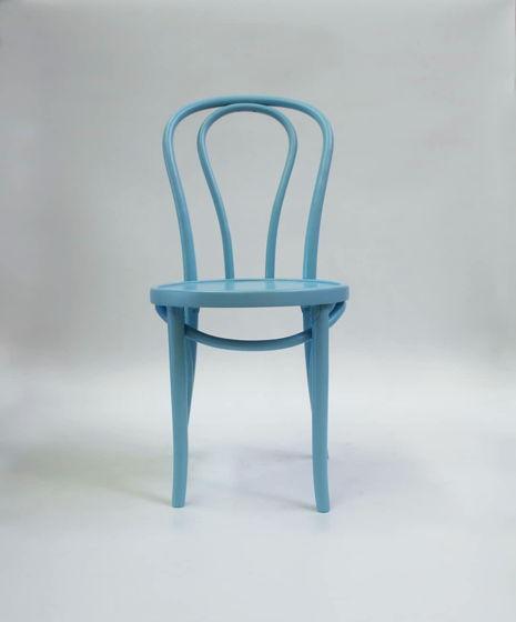 Классический венский стул, светло-голубой