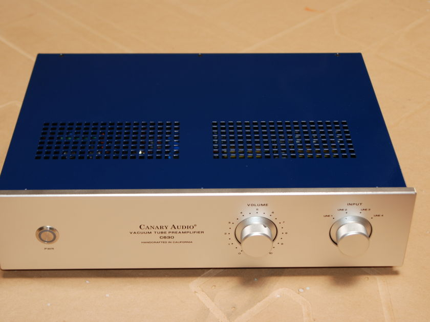 Canary Audio C630 Tube line level Preamplifier