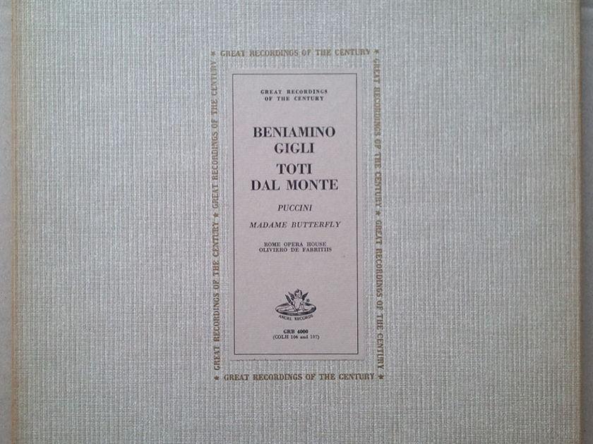 ANGEL   OLIVIERO DE FABRITIIS/PUCCINI - Madama Butterfly / 2-LP / NM