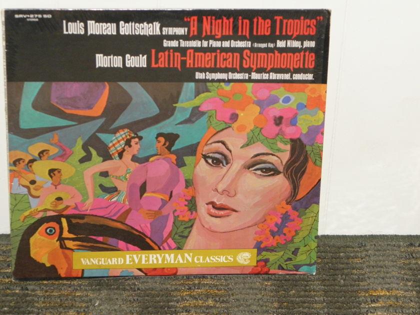 "Abravanel/Utah Symphony Orchestra - Gottschalk ""A Night in the Tropics""+""Latin America n Symphonette"" Vanguard SRV 275 SD Still in shrink."
