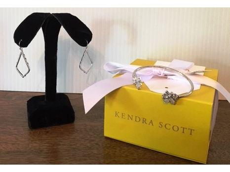 Kendra Scott Bracelet + Earrings