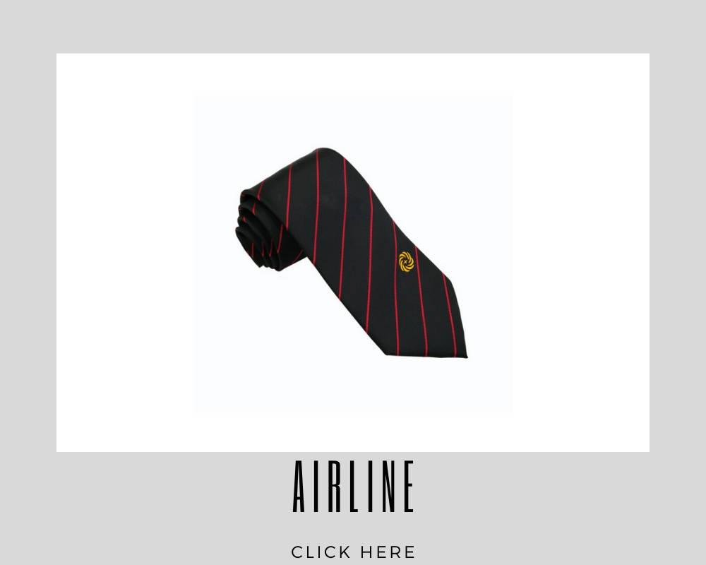 Custom Airline Corporate Necktie