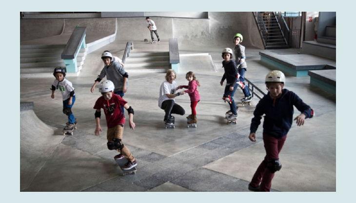 skatehalle berlin die ersten versuche