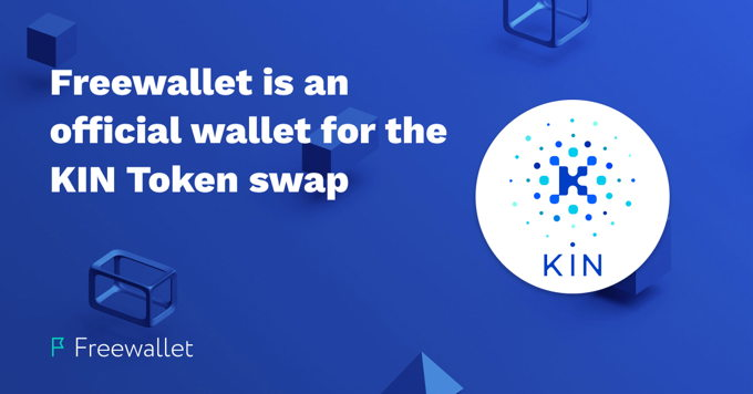 Freewallet is an official wallet for the KIN coin