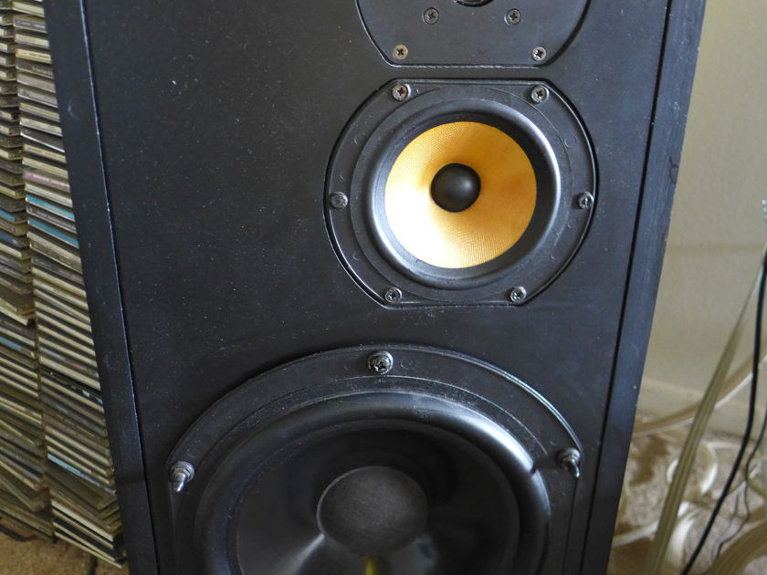 B&W DM 16 Hi-end 3 way speakers