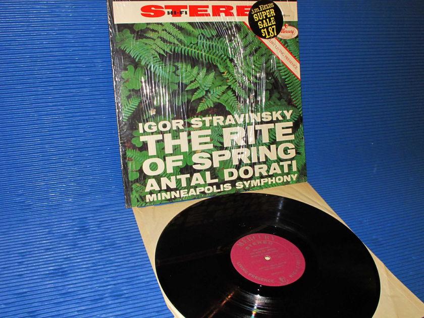 """STRAVINSKY/Dorati -  - """"The Rite of Spring"""" -  Mercury Living Presence 1961"""