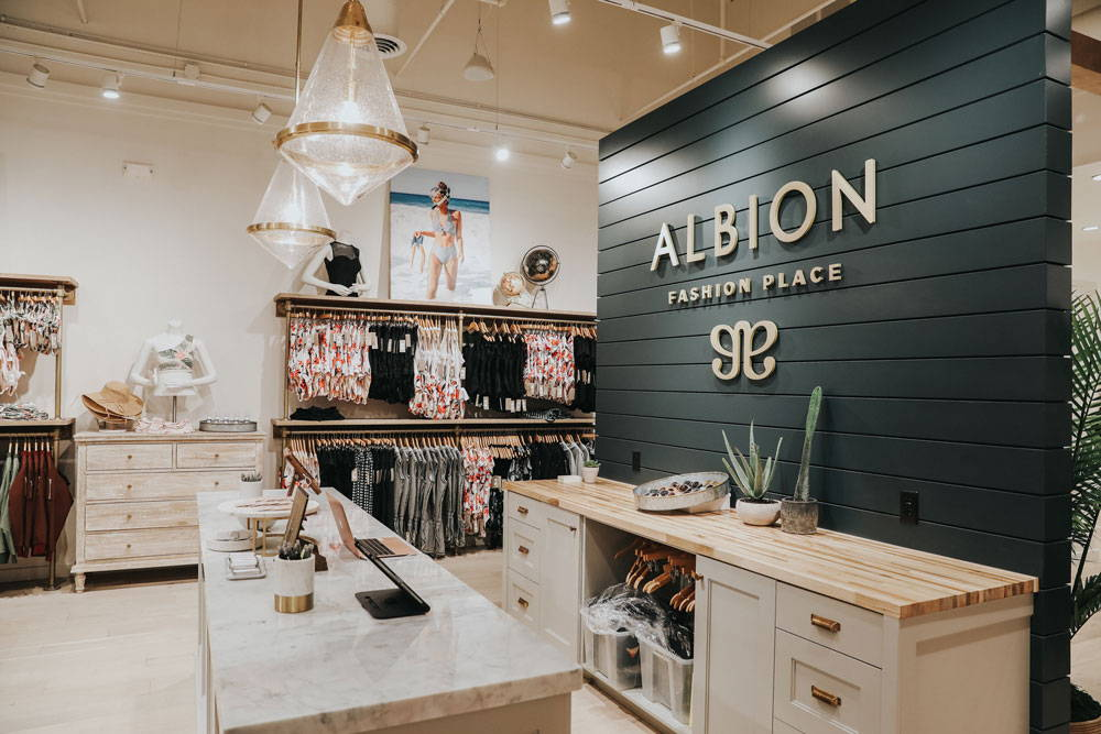 what stores are in fashion place mall