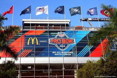 Pro Bowl Stadium Windows