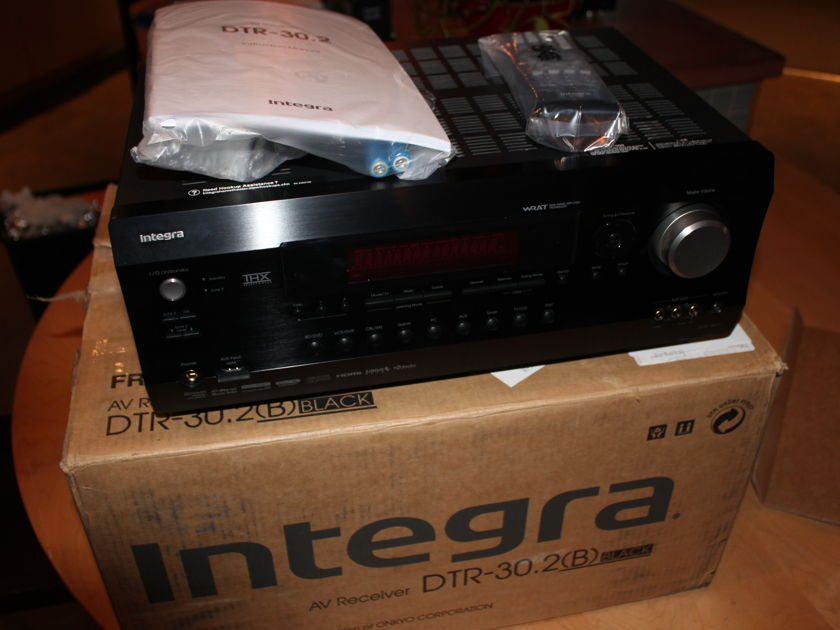 Integra  DTR 30.2 THX AV Receiver - Xlnt!