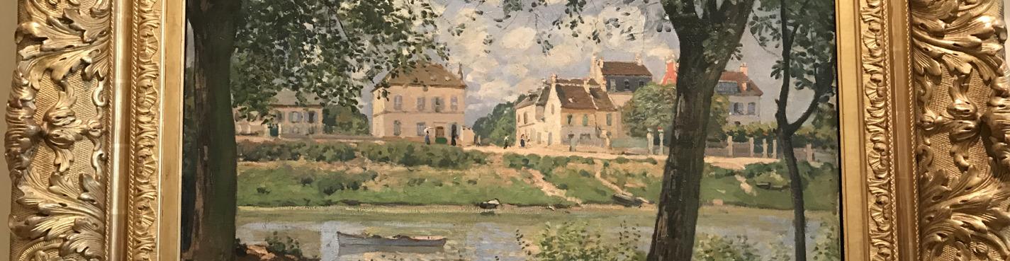 Импрессионизм во французской живописи .