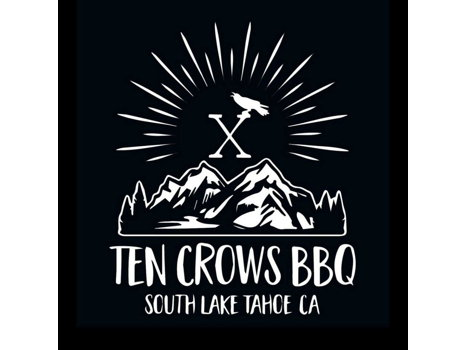 Dining at Ten Crows BBQ