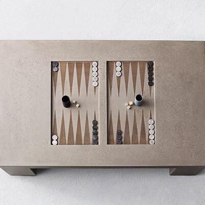 James De Wulf Backgammon Table