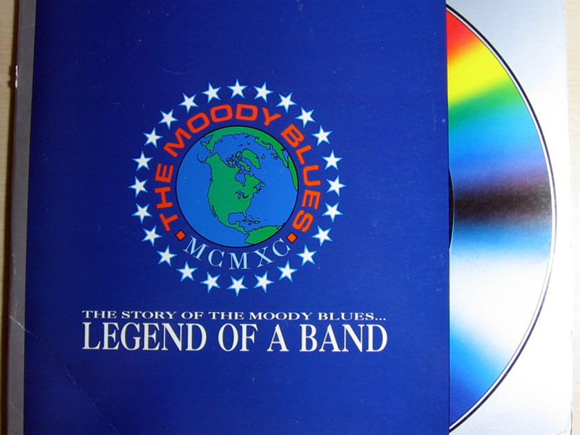 THE MOODY BLUES - THE STORY OF THE MOODY BLUES ... - LD Laser Disc POLYGRAM MUSIC VIDEO 082 775-1