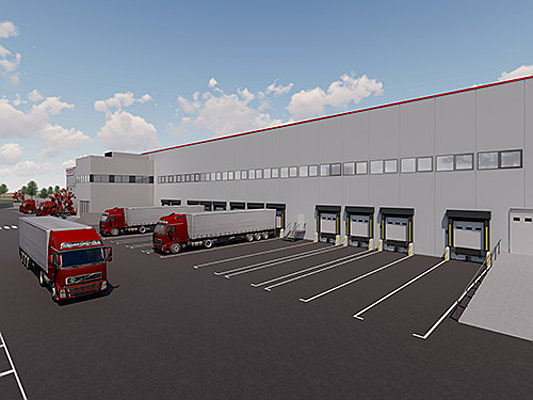 "Birkirkara - Engel & Völkers Development Spain is building three warehouses in the ""Villaverde"" logistics park in Madrid"