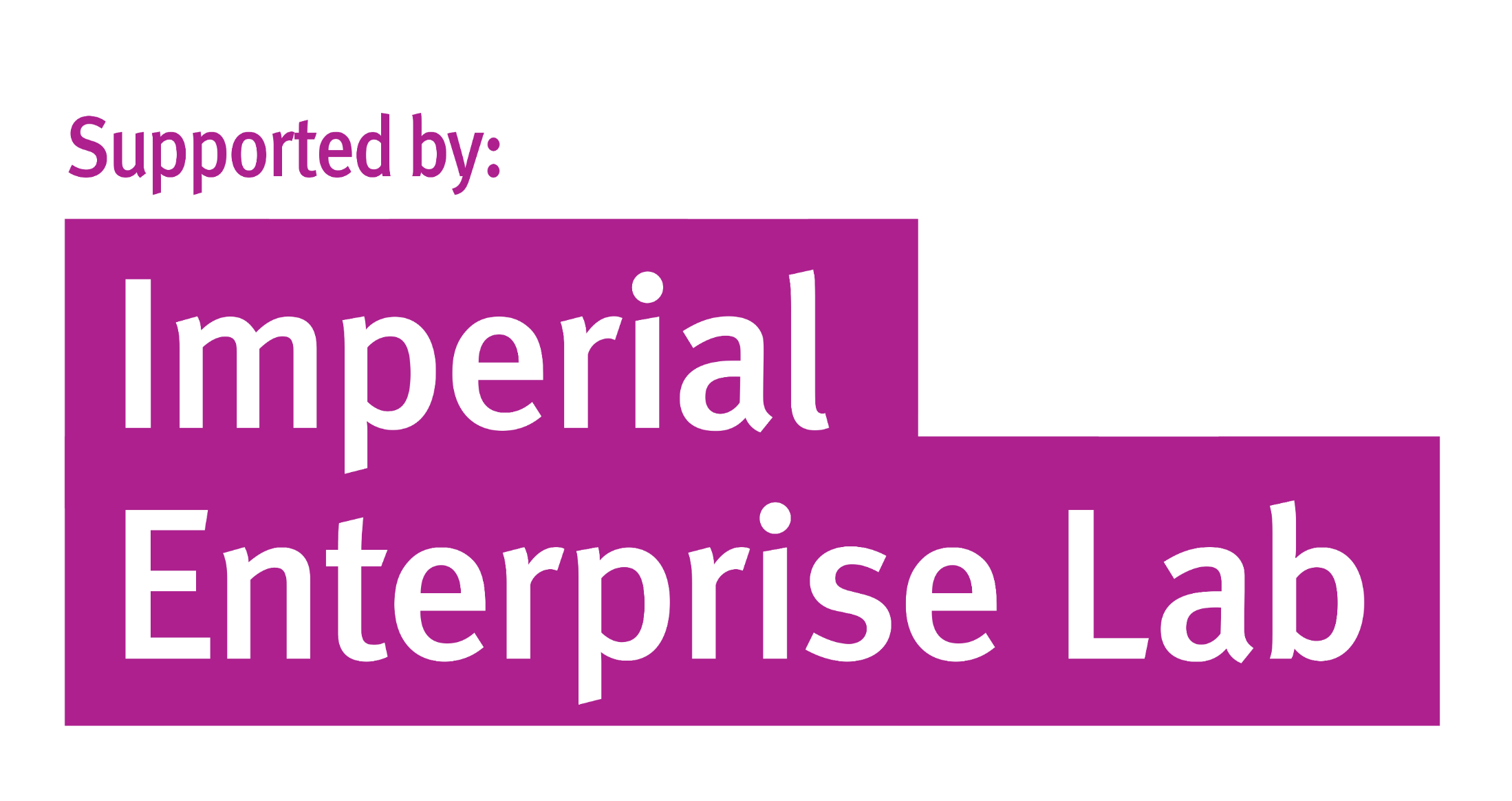 Supported by imperial enterprise lab logo