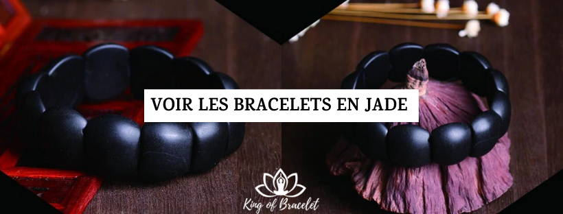 Bracelet Jade Noir - King of Bracelet