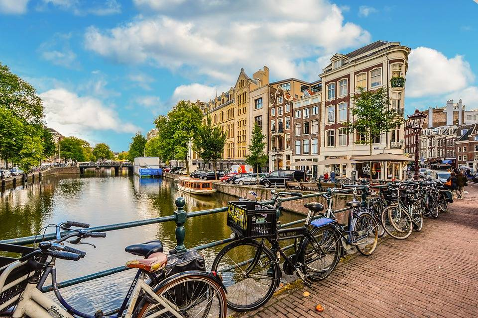 Amsterdam, rest and relax travel destination