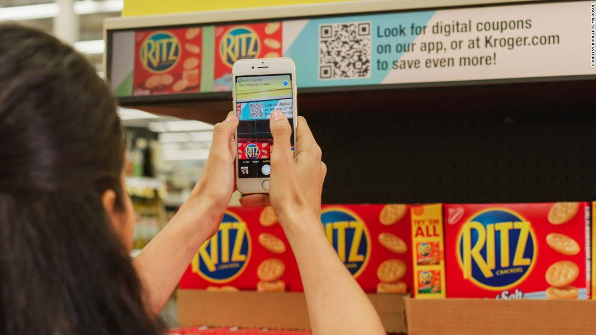 Kroger & Microsoft Want To Change How You Shop For Groceries | Dieline