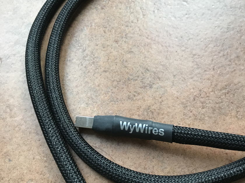 WyWires, LLC Silver Digital USB Cable, 1.5m