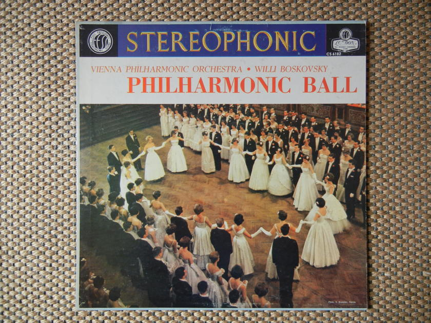Strauss - Philharmonic Ball London FFSS CS 6182 Blue Back
