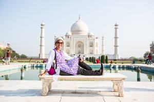Discover the amazing Taj Mahal