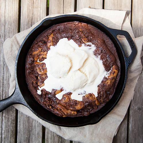 Brownie Cookie Skillet