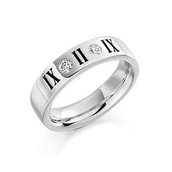 Shop diamond engagement rings for men at Pobjoy Diamonds
