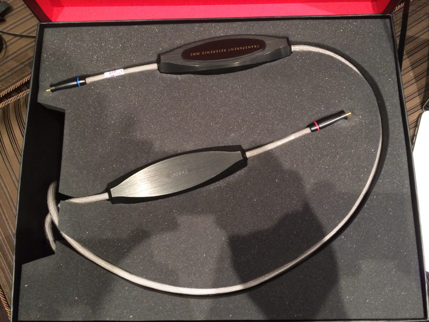 Transparent Audio Reference MM2 (SRMM) 60' pair RCA interconnects