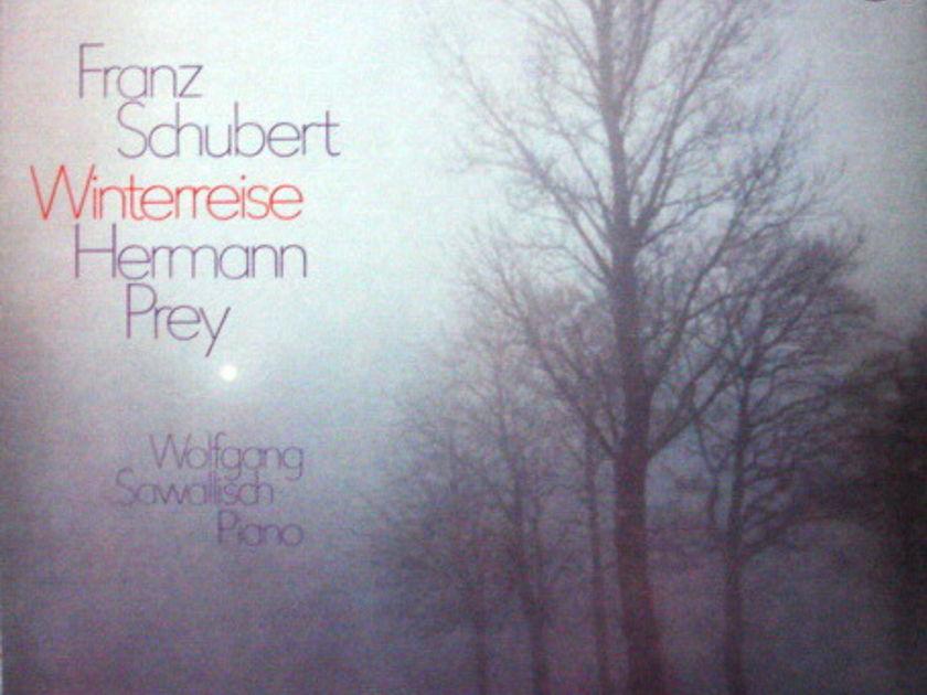 Philips / HERMANN PREY, - Schubert Winterreise, MINT, 2LP Box Set!