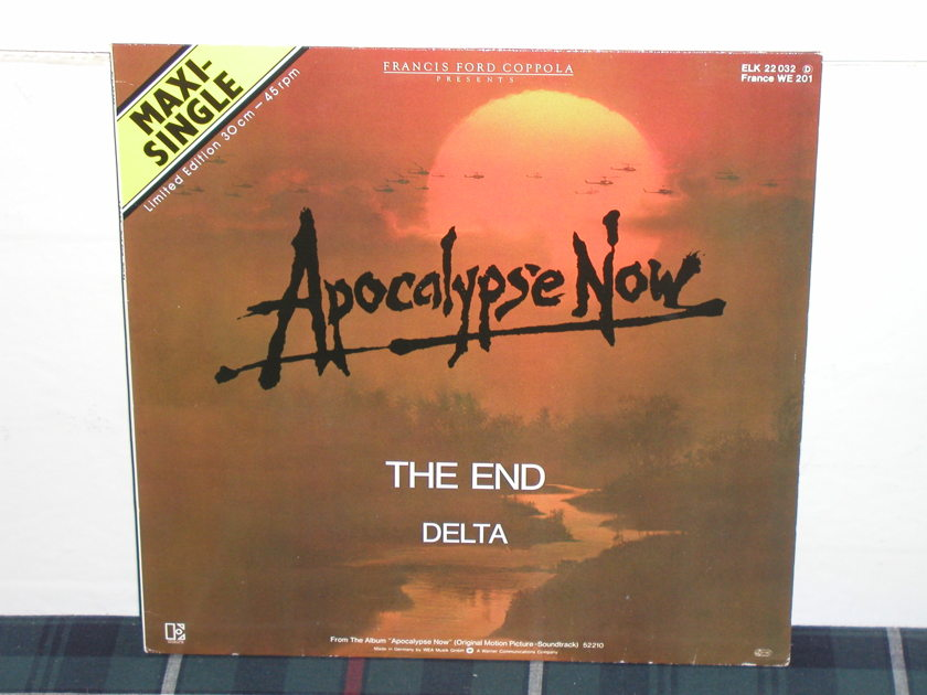 "The Doors - ""The End"" 45RPM Apocalypse Now GERMAN Import 12er"